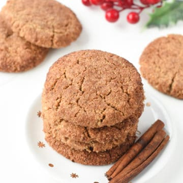 Vegan gluten free snickerdoodle