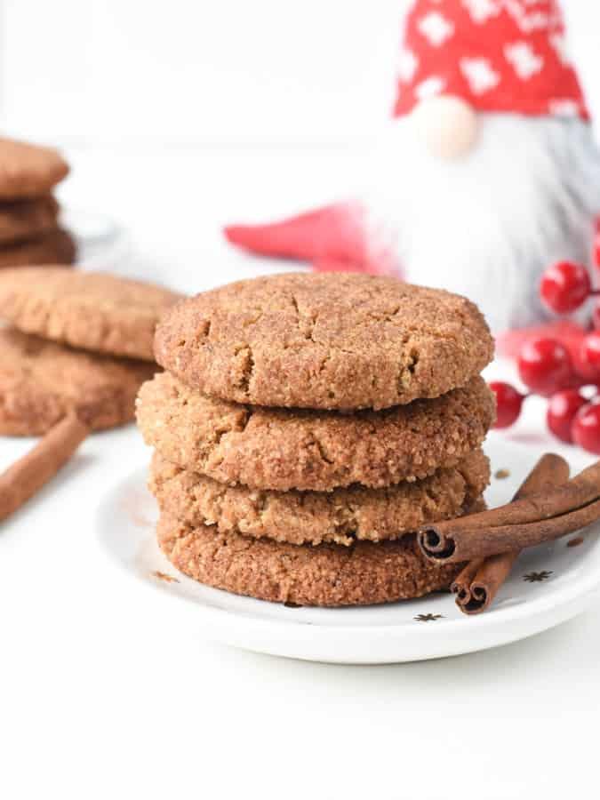 gluten free snickerdoodle recipe with almond flour
