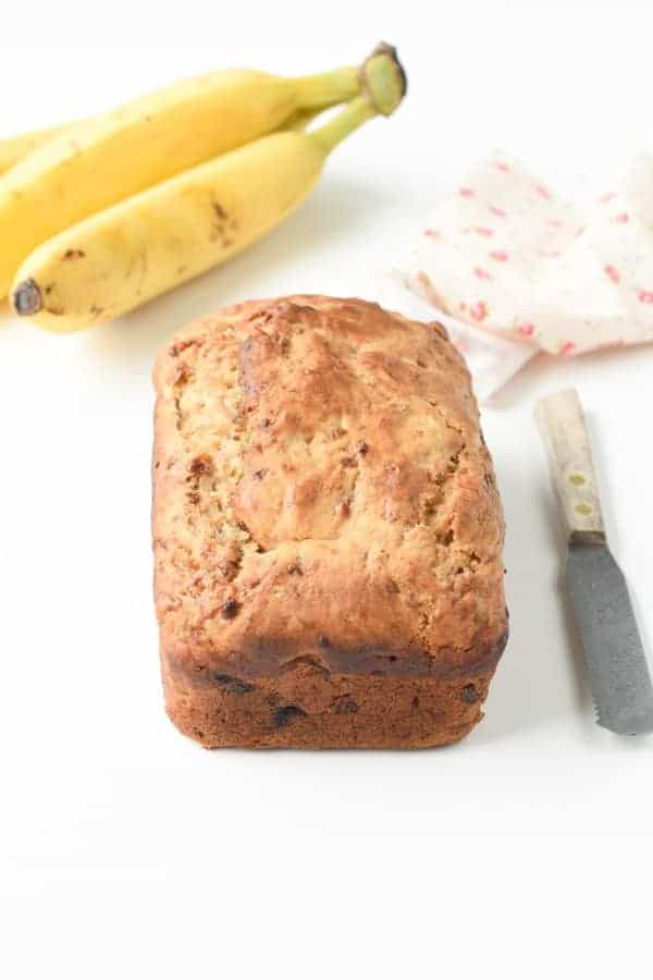5 ingredients banana bread