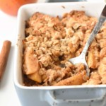 Vegan gluten-free apple crisp