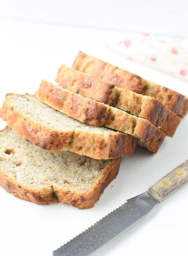 healthy banana bread 5 ingredients