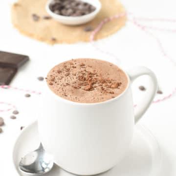 the best vegan hot chocolate