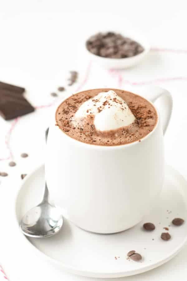 vegan hot chocolate from scratch