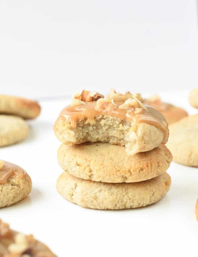 banana bread cookies vegan