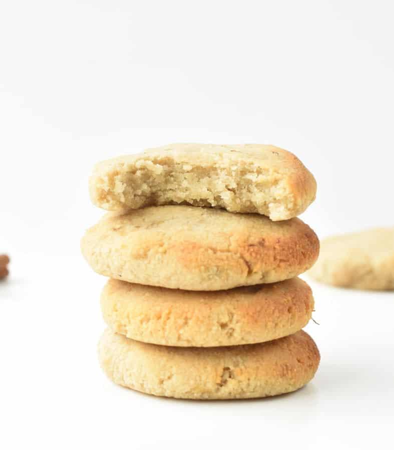 Soft banana cookies