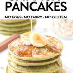 Healthy Banana Spinach Pancakes