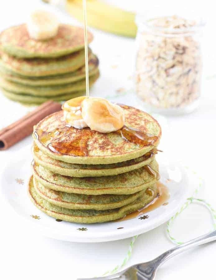 Spinach Banana Pancake recipe