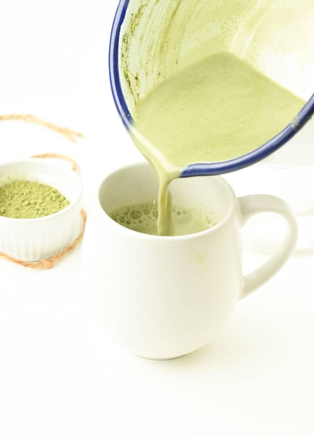 dairy free Matcha Latte