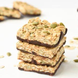 no bake healthy flapjack recipe