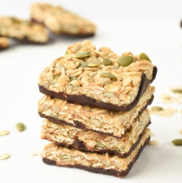 no bake healthy flapjack recipe