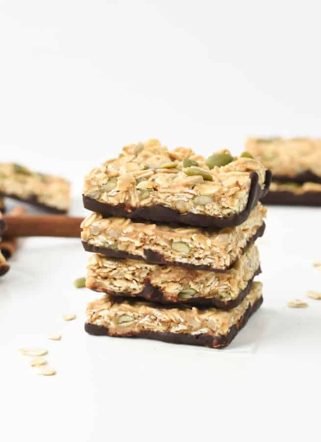 no bake vegan flapjacks