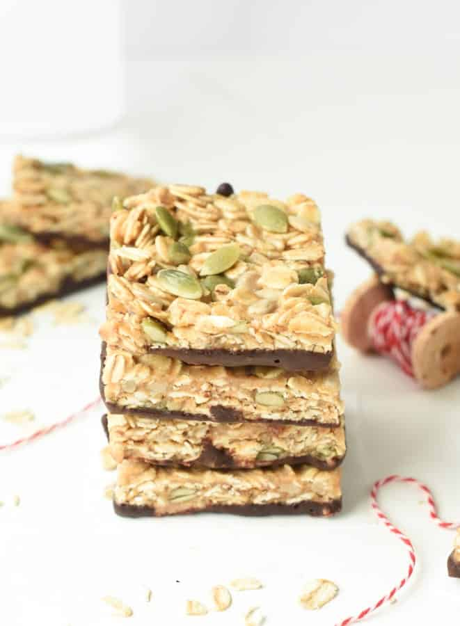 peanut butter flapjacks no bake