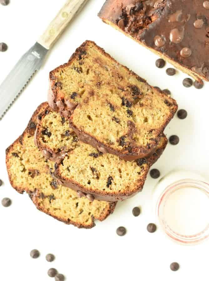 vegan oil free banana bread