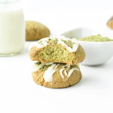 Easy Matcha cookies