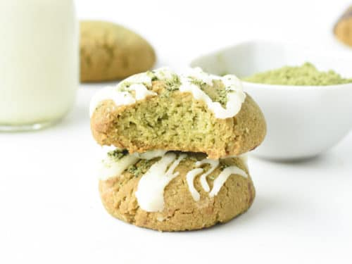 Easy Matcha cookies