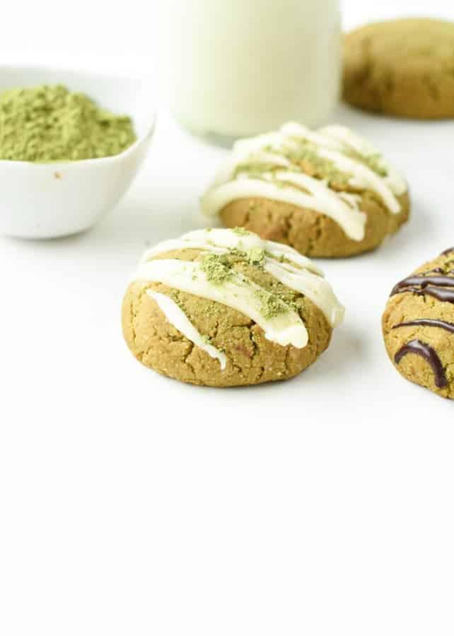Matcha cookies Almond Flour