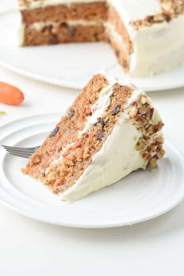 Vegan carrot Cake easy
