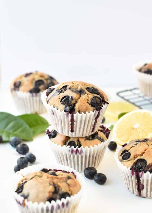 buckwheat breakfast muffins