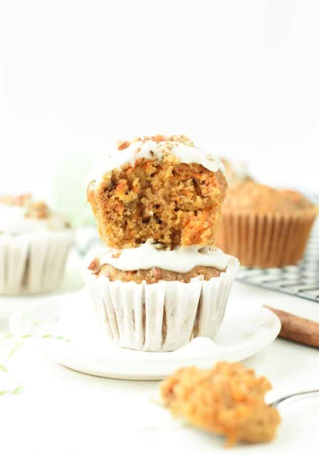 easy vegan carrot cake cupcakes