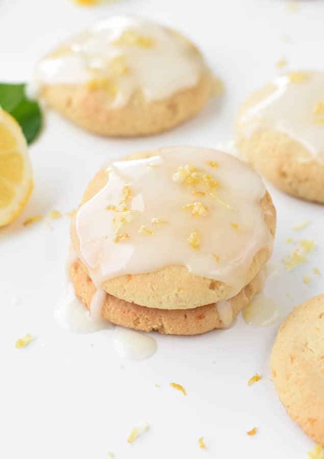 lemon cookies with almond flour