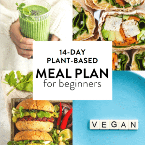 Easy Vegan Meal Plan Cover