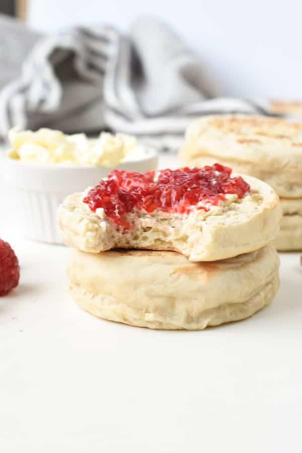 English Muffins vegan