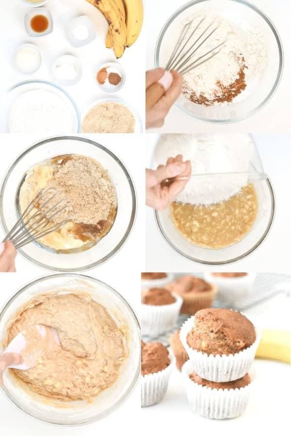 How to make Vegan Banana Muffins