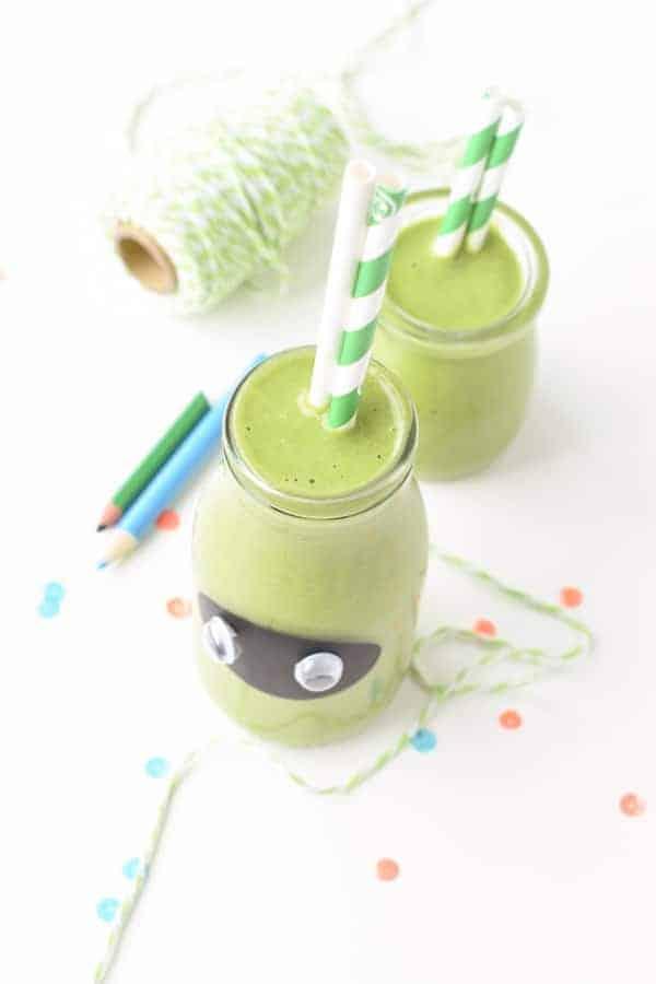 Kids green smoothie