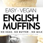 Vegan English Muffins