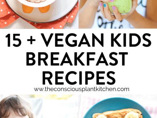 Vegan kids breakfast recipes