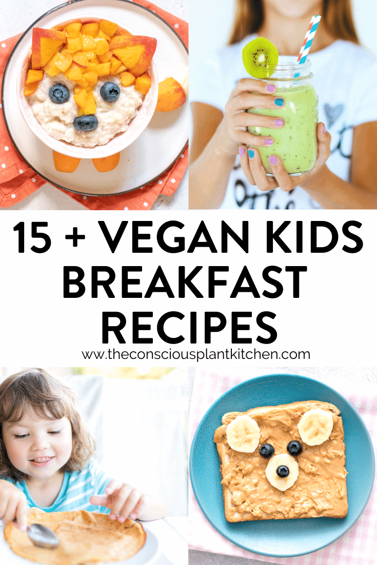 Vegan kids breakfast recipes