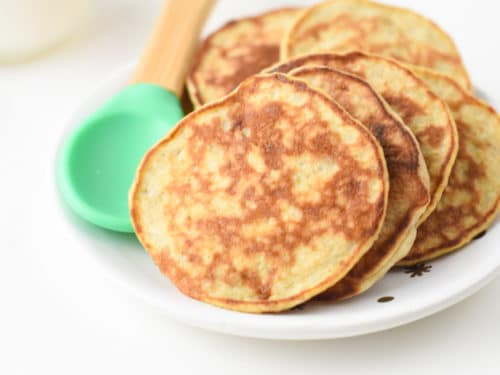 baby led weaning banana pancakes