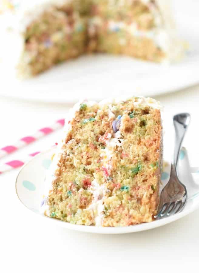 funfetti cake vegan