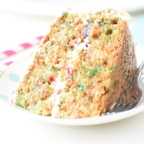 funfetti vegan cake