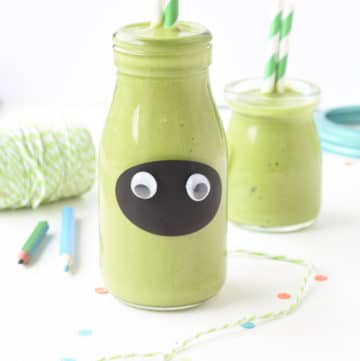 green monster smoothie for kids