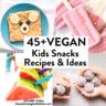 45+ Vegan Snacks for Kids...