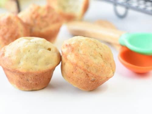 baby friendly banana muffins