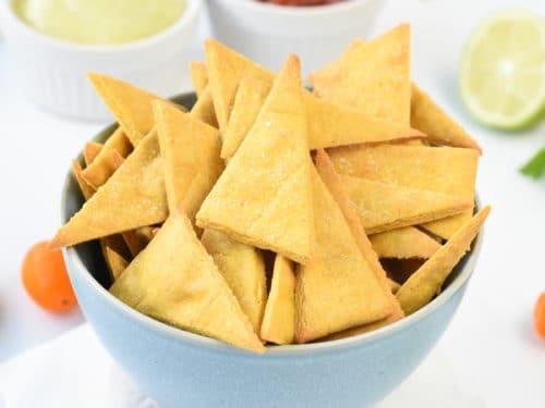 Chickpea flour crackersChickpea flour crackers