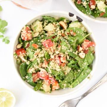 Easy quinoa salad