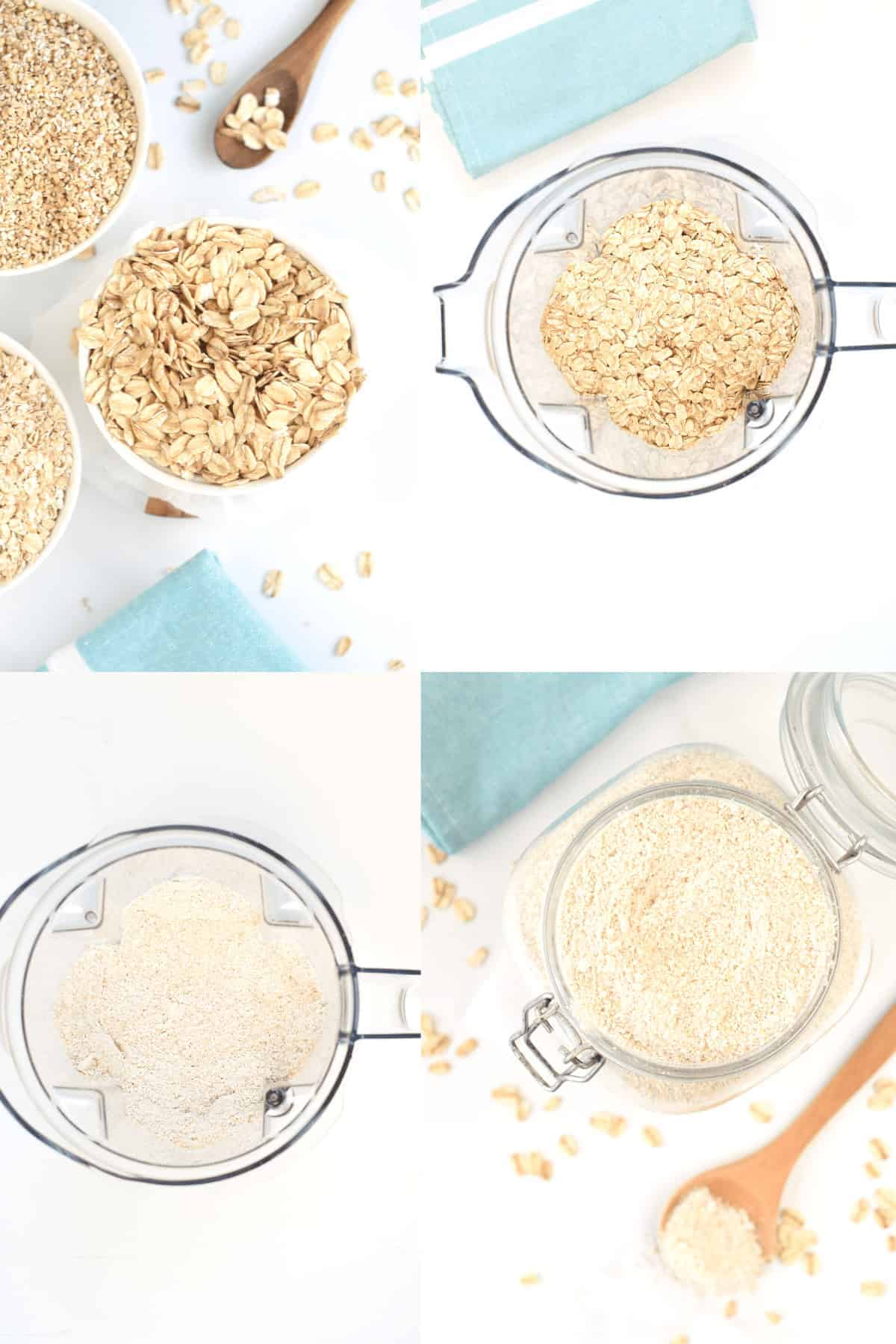How to make Oat flour at home