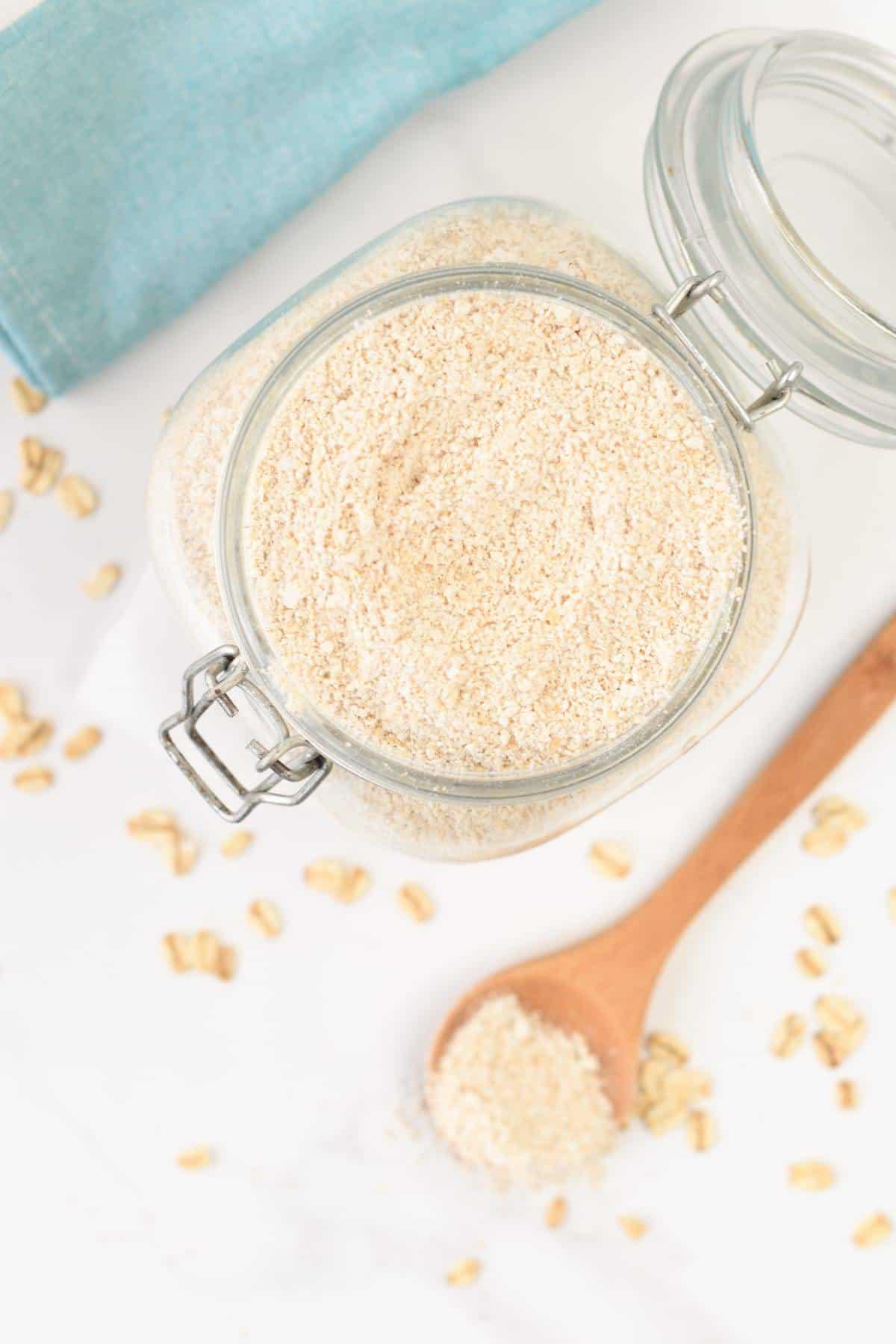 Is oat flour healthy?