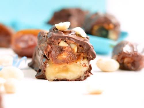 Frozen Chocolate Banana Bites-3
