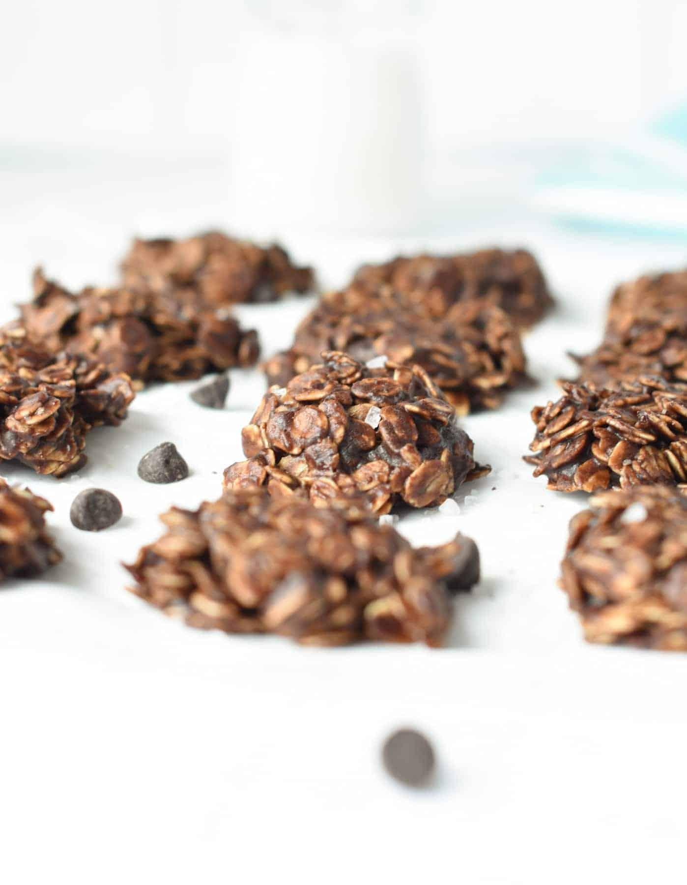 Gluten-free No Bake Cookies