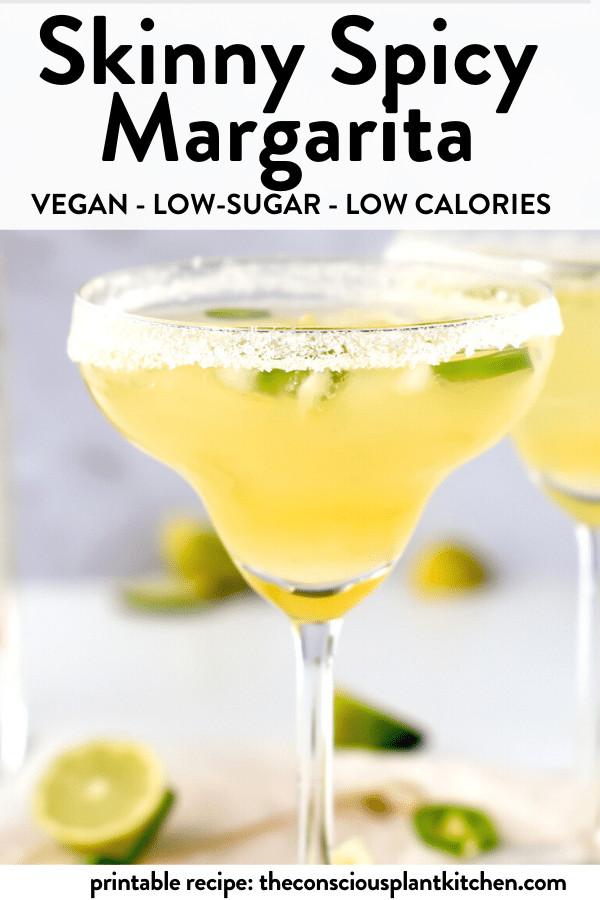 Skinny Spicy Margarita