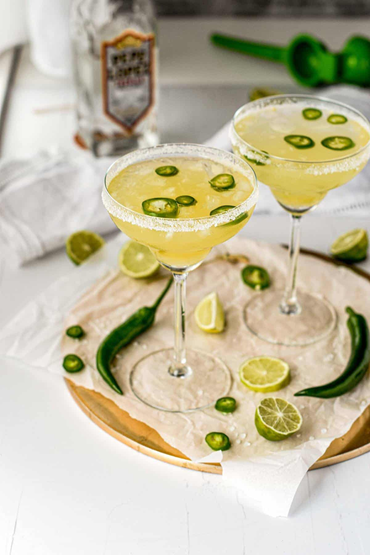 Spicy Skinny Margarita Ready to Drink