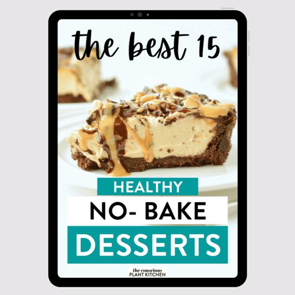 Healthy No-Bake Dessert Recipes - ebook