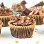 Vegan Chocolate Cupcakes fir kids