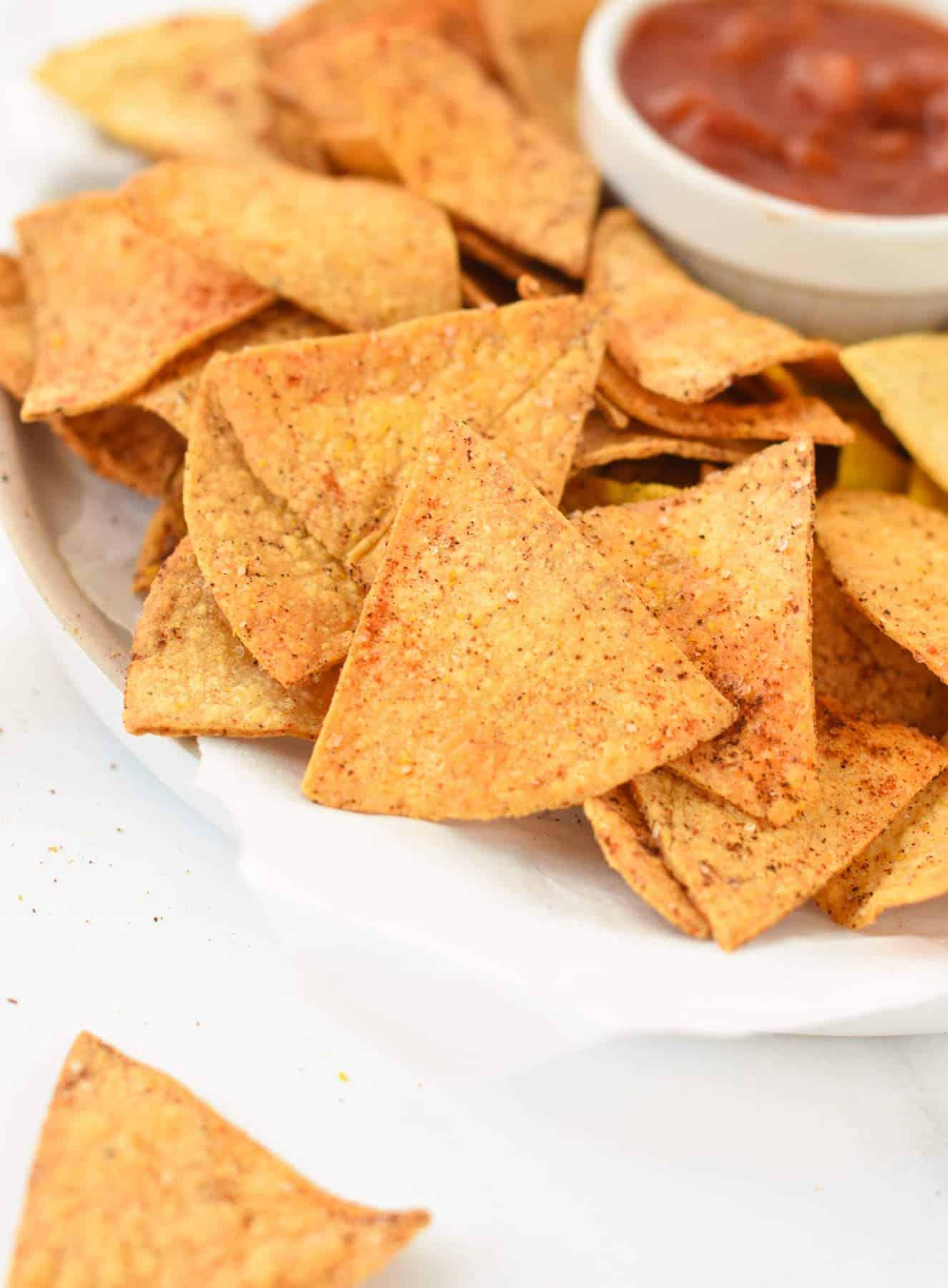 Air Fryer Tortillas Chips Recipe