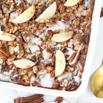 Baked oatmeal recipe apple