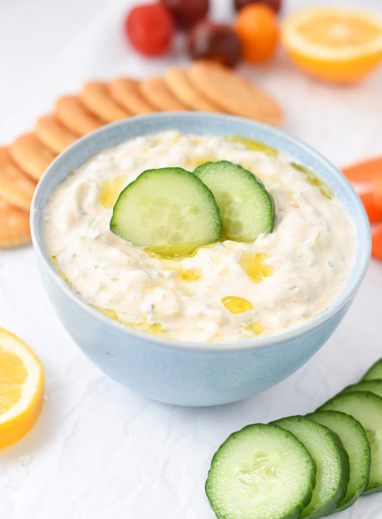 Cucumber Dip Recipe